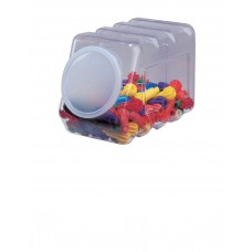 Container Storage 5.5''X9.5''X6.75'' W/Lid