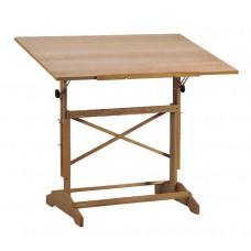 Table Drawing Pavillon Pedestal 31X42