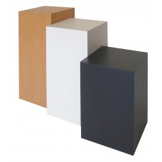 Display Pedestal 16X16X24 Blk