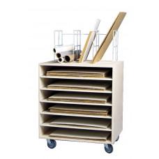 Rack Basic With Upper Storage Unit