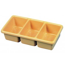 Tray Tote Tray Compartment Plastic 10.5X5.5X2.5