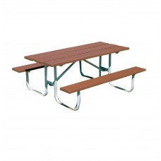 Table Outdoor 6' Heavy Duty Recycled Plastic - Select Color