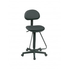 Chair Drafting With Footrest Economy Black