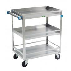 Cart Utility Ss W/Guard Rail 500Lb Capacity 31X19X34.75In