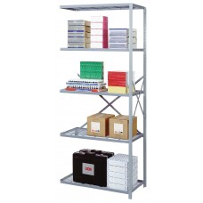 Shelving Wire Add-On 5 Shelf Open 84Hx36Wx18D