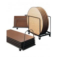 Table Caddy Ki Horizontal Holds 10 96 Tables Beige
