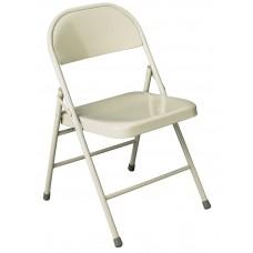 Chair Folding Ki 700 Series Beige Frame Beige Feet/Bumpers