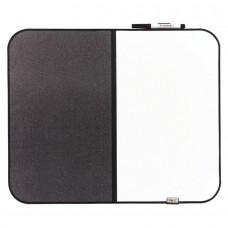 Board Post-It Dry-Erase/Bulletin Charcoal Gray Mmm558Cbs