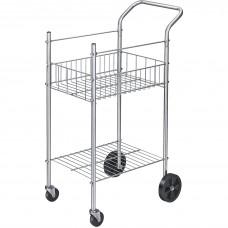Cart Mail Ltr/Lgl Fldrs 19.5X26X40.25 Slvr Fel4092001