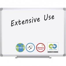 Board Dry-Erase Earth-It 2X3 Wht/Alum Frame Bvccr0620030