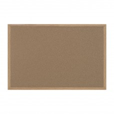 Corkboard Earth-It! W/Mdf Frame 4X6 Brown Bvcsb1420001233