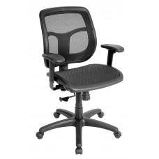 Chair Task Eurotech Apollo Task Mesh Back/Seat - Black