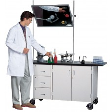 Science Demonstrator W/ Sink 60Wx34Hx23D Specify Cabinet And Trim Colors