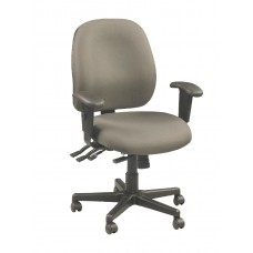Chair Task Eurotech 4X4 Multifunction Task Chair With Arms Specify Fabric Color