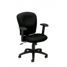 Chair Basyx Task/Guest Textured - Black Frame/Fabric