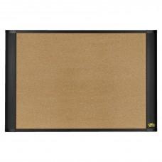 Board Cork Bulletin W/Command Strips 36X24 Brown Mmma3624G