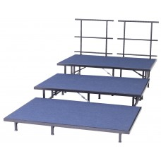 4' X 8' X 32'' H Single Height Stage - Hb Deck