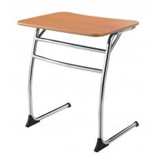 Desk - Cs Contemporary Cantilever - 20X26 Laminate Top W/Black Lockedge