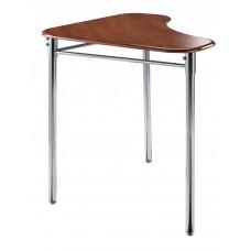 Cs Contemporary Collaboration Desk - 28X28X36 Triangle Solid Plastic Top