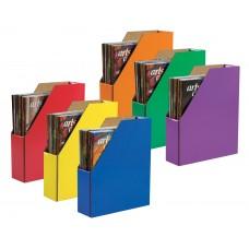Classroom Keepers Magazine Storage Asst  6-Pk