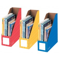 Box 4 Inch Magazine File Primary Assortment Pack Of 3