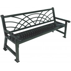 4 Foot Savannah Bench - With Morning Back - Specify Color