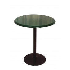 Round Food Court Table - 36 Diameter X 42 H Inch - Solid Pattern - Specify Color - Specify Mount