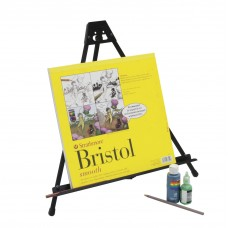 Light Weight Folding Easel In Black