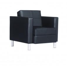 Chair Citi Lounge 31X30X30 Tungsten Legs Black - Specify Fabric