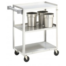 Cart 3 Shelf Stainless Steel