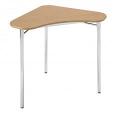 Cs Contemporary Collaboration Desk - 28X28X36 Triangle Laminate Top