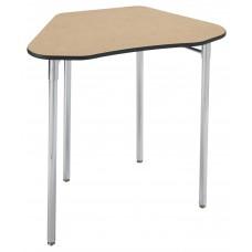 Desk - Cs Contemporary Collaboration - 21X16X33 Hexagon Laminate Top W/Black Lockedge
