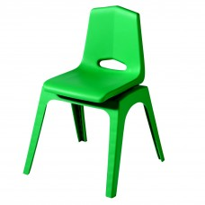 Chair - Royal Prima Stack 9 - Specify Seat Color - Specify Black Or Matching Plastic Leg Color
