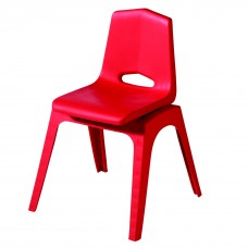 Chair - Royal Prima Stack 10 - Specify Seat Color - Specify Black Or Matching Plastic Leg Color