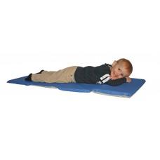 Toddler Rest Mat 3/4''X21''X46'' Blue/Gray Color Combo