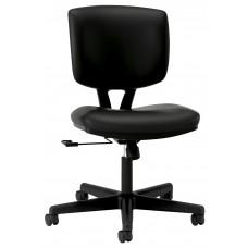 Task Chair Volt Center-Tilt With Black Softhread Leather