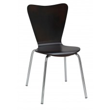 Chair Cafe With Contemporary Bentwood Shell-Specify Color Finish