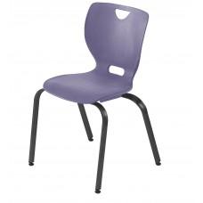 Chair - Cs Neoclass Elliptical Four Leg - Soft Plastic Shell 18 A+