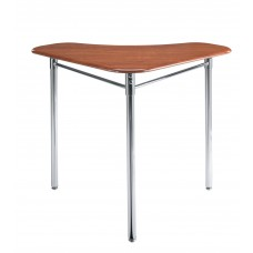 Cs Contemporary Stand Up Collaboration Desk - 28X28X36 Triangle Hard Plastic Top
