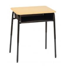 Desk - Royal 1600 A+ Open Front - 20 X 26 Hard Plastic Top - Metal Bookbox