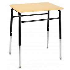 Desk - Royal 1600 A+ Study Top - 20 X 26 Hard Plastic Top - 22.5 - 33.5 Adj Height