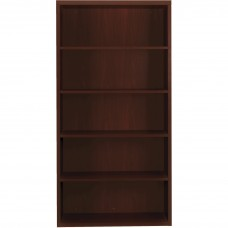 Bookcase 5-Shelf Fixed 71H Mahogany Hon11555Axnn