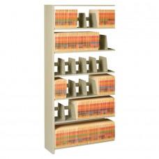 File 6-Shelf Add-On Unit 76Hx48Wx12D Sand Tnn127648Acsd