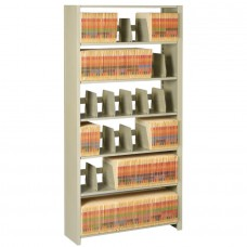 File 6-Shelf Starter Unit 76Hx36Wx12D Sand Tnn1276Pcsd