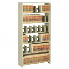 File 7-Shelf Starter Unit 88Hx48Wx12D Sand Tnn128848Pcsd