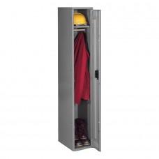 Locker 1 Tier 1 Wide No Legs 72X12X18 Md Gry Tnnsts121872Amg