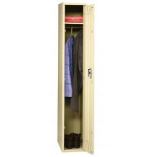 Locker 1 Tier 1 Wide No Legs 72X12X18 Sand Tnnsts121872Asd