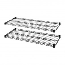 Shelves Expand F/Lorell Wire Strtr Kit 48X18 Llr69139 Pack Of 2