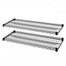 Shelves Expand F/Lorell Wire Strtr Kit 36X24 Llr69143 Pack Of 2