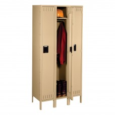 Locker 1 Tier 3 Wide Legs 36X18X78 Sand Tnnsts1218723Sd